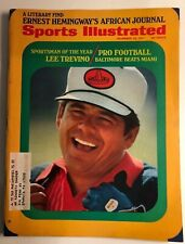 Sports Illustrated December 20, 1971, Lee Trevino, Sportsman Of the Year!!!