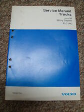 VOLVO TRUCK FLC WIRING DIAGRAM MANUAL  ...  LEFT HAND DRIVE    GROUP 37