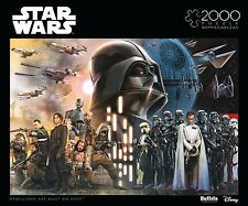 Star Wars Rogue One 2000 Piece Jigsaw Puzzle NEW