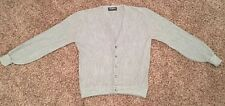 Men's Vintage Puritan 6 Button Cardigan Size XL Gray Made in the USA