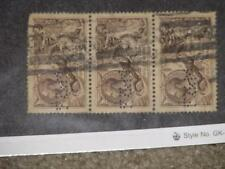 Great Britain, Scott# 179 Strip of 3 used, catalog value approximately $225.00
