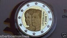 2 euro 2009 Fs BE PP proof specchio LUSSEMBURGO Luxembourg Luxemburg Charlotte