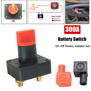 Battery Float Switch Car Van Truck Boat Power Disconnect On Off Rotary Isolator