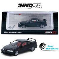 INNO64 1996 Honda Integra Type-R DC2 (Black) w/ Gold Wheels
