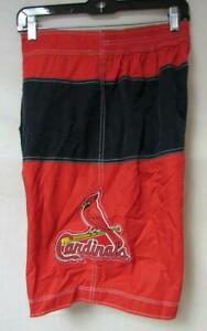 "St. Louis Cardinals Mens Size 32"" Swim Trunks Board Shorts C1 761"
