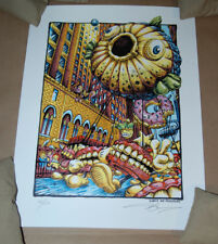 Cutting My Teeth Phish New York NYE AJ Masthay Poster Signed Print  Numbered