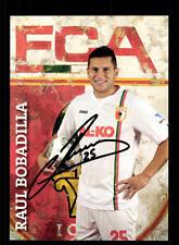 Raul Bobadilla Autogrammkarte FC Augsburg 2013-14 Original Signiert+A 128268