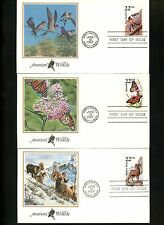 US FDC #2286-2335 Unknown 1987 USPS CAPEX Toronto Canada Wildlife Set of 50