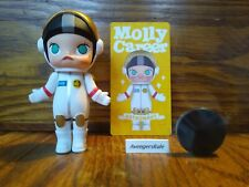Pop Mart Kennyswork Molly Career Mini Figure Astronaut White