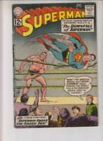 """Superman 155 G+ (2.5) 8/62 """"The Downfall of Superman!"""""""