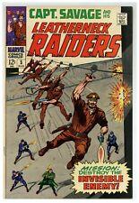 Captain Savage and His Leatherneck Raiders #5 (1968) Marvel war Comics (j#2150)