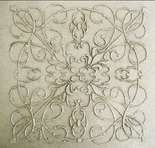 Stencil,Plaster Stencil, Large Andre Tile Wall Stencil, Furniture Stencil