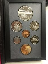 1991 ROYAL CANADIAN MINT 7 COIN PROOF  SET
