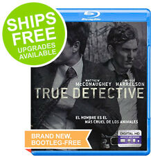 True Detective Complete First Season (Blu-ray + Digital) NEW, McConaughey, Woody