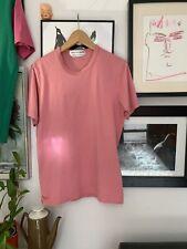 mens comme des garcons t shirt Pink Medium