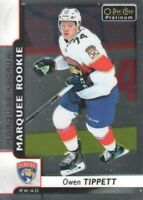 2017-18 O-Pee-Chee Platinum #190 Owen Tippett RC Florida Panthers