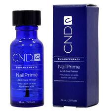 CND CREATIVE NAIL ACID FREE PRIMER 15ml 0.5oz- nail technician tech prep bonder