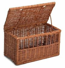 Wicker Cat Medim Pet Carrier Basket Chemicals Free Durable