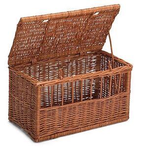 Wicker Cat Medim Pet Carrier Basket Chemicals Free Durable