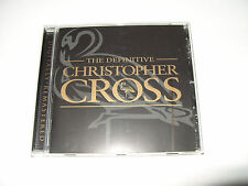 Christopher Cross The Definitive christopher cross New cd 2001 Not Sealed