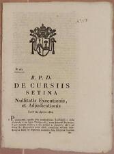 SENTENZA SACRA ROTA SEZZE LATINA LAZIO AFFITTO BERTAZZOLI CAPOZZI 1834 CODARDA
