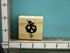 Partridge in a pear tree rubber stamp 17R