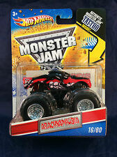 Hot Wheels Monster Jam 2011 ARACHNAPHOBIA 16/80 - TATTOO SERIES - NEW 1:64