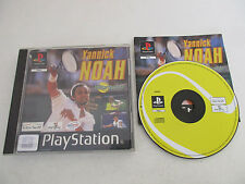 YANNICK NOAH ALL STAR TENNIS 99 - SONY PLAYSTATION - JEU PS1 PSX PS2 COMPLET