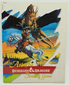 Dungeons and Dragons The Art of the Dungeons & Dragons Fantasy Game 1985 TSR