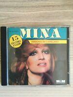 Mina - Versiones En Castellano - 15 grandes exitos - CD Album - 1994 Argentina