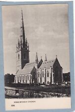 BODELWYDDAN CHURCH DENBIGHSHIRE -  Unposted Antique Undivided Back Postcard