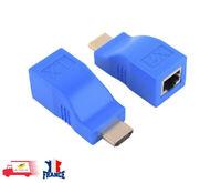 4K HDMI vers réseau RJ45 Extender Récepteur et émetteur par Cat 5e/6 jusqu'à 30M