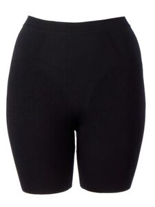 New Scala Anti Cellulite Remover Shapewear Slimming Bermuda Shorts Black Medium