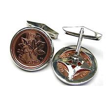 2012 Canadian Penny Silver Frame Cufflinks