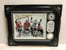 Los Angeles LA Kings 2014 NHL Champions Framed Photo 13 x 16 with TWO Medallions