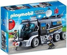 PLAYMOBIL City Action Vehículo con luz LED y Módulo de Sonido, a Partir de 5 Año