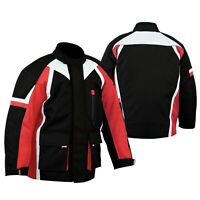 NEW Kids Motorbike Jacket Cordura Textile Waterproof Youth Jackets Coat CE Armor