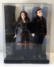 Barbie Twilight Saga Breaking Dawn Bella & Edward 2-Pack #A Dolls NEW 2013 Y5858