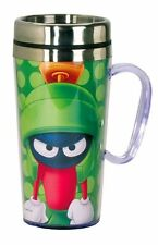 Looney Tunes Marvin The Martian Insulated Travel Mug, Green , New, Free Shipping