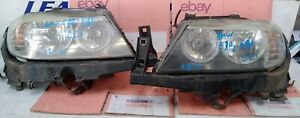 2008-2011 E90 E91 3 SERIES LCI PAIR OF LEFT RIGHT HEADLIGHTS with BRACKETS