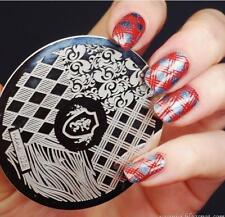 Nail Art Stamping Plates Image Plate Decoration Harry Potter Halloween (hehe26)
