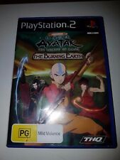 Avatar - The Legend Of AANG The Burning Earth - Playstation 2 PS2 Game,PAL VGC