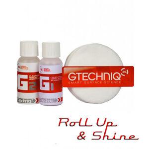 Gtechniq G1 & G2 Clear Vision Smart Glass Nanocoat - 15ml