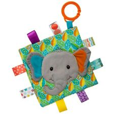 TAGGIES Crinkle Me Little Leaf Elephant Colourful Crinkle Soother