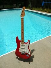Fender Strat Plus Torino  1987 First Year Red Really Clean!!!