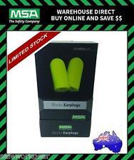 MSA BLOCKA Earplug Uncorderd Box 200 pairs Hearing Protection Class 5 (29dB)