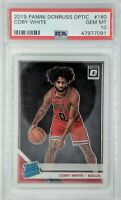 2019-20 Panini Donruss Optic Rated Rookie Coby White RC #180, Graded PSA 10