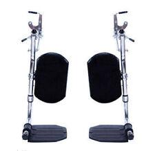 Pair Invacare Wheelchair Elevating Footleg Calf Rest Pad