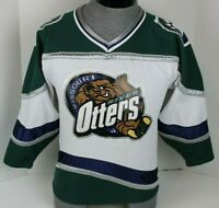 VINTAGE MISSOURI RIVER OTTERS UHL MINOR LEAGUE HOCKEY AK JERSEY YOUTH SIZE S S/P