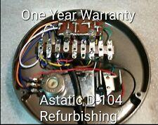 Astatic D -104 T-UG 8 and T-UG 9 Power Microphone Refurbishing. See discription!